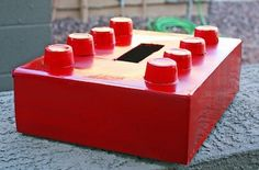 The Crafty Crow a children's craft collective-really great craft ideas for kids-luv this lego valentines card box:)