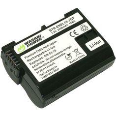 Wasabi Power Battery for Nikon and 1 Nikon D800, Camera Equipment, Photography Gear, Photo Accessories, How To Run Longer, Digital Camera, Buy Cheap, Thursday