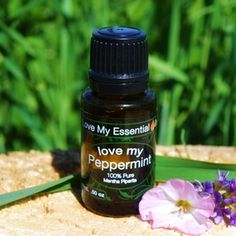 """""""Love My Peppermint"""" is only $19.95! (Compare to doTerra Peppermint at $27.33 and Young Living Peppermint at $28.29) Same undiluted 100% Pure Oil...better price! (Healthy and pure enough for dietary use, aromatherapy, or topical use). Shop with us and save!"""