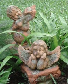 Two More Of My Garden Angels.