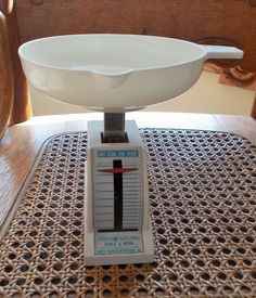 Vintage Scale Weight Watchers Official Diet Food Scale White 16 oz. Kitchen Scale US Shipping Included by TremendousTreasures on Etsy