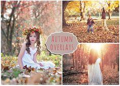 50 Autumn Photoshop Overlays Bundle by ElyseBear on Creative Market
