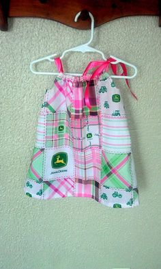John+Deere+Dress+by+AshleyMichellew+on+Etsy,+$13.00