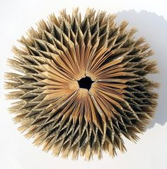 round folded book