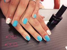 ALX Gel Polish #012 και λευκό #002! Άκρως καλοκαιρινό :) Nail Polish, Cosmetics, Nails, Beauty, Finger Nails, Ongles, Nail Polishes, Polish, Beauty Illustration