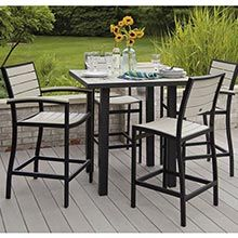 Euro Collection 5-Piece Outdoor Bar Set PWS-158-1