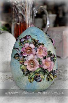 technika sospeso - wielkanocne wielkie jaja