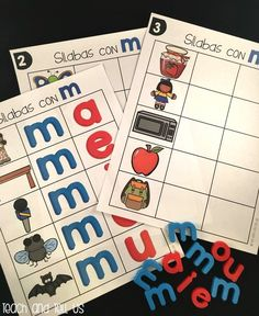 Practica de silabas Dual Language Classroom, Bilingual Classroom, Bilingual Education, Spanish Classroom, Teaching Spanish, Bilingual Centers, Classroom Ideas, Guided Reading Strategies, Guided Reading Lessons