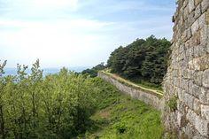 Rampart of Sangdangsanseong Fortress, Cheongju, South Korea