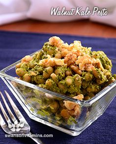 Coat your pasta, slather it on your bread or layer it on your chicken! This walnut kale pesto will be a versatile favorite soon enough!