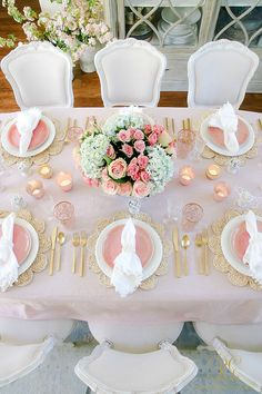 On my blog today, I've rounded up my favorite spring tablescapes! #easter #heisrisen #eastertable #easterdinner #easterdecor #springdecor #tablescape #eastertablescape #easterdinnertable #pinktablescape #floraltablescape #galentines #femininetable #tablesetting #hostingathome #saferathomefortheholidays #hydrangeasandroses #easterbasket #placesetting #easterplacesetting Pink Christmas Decorations, Easter Table Decorations, Wedding Decorations, Easter Table Settings, Pink Table, Beautiful Table Settings, Spring Home Decor, Event Decor, Floral