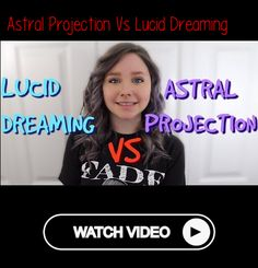 Astral Projection Vs Lucid DreamingIf you prefer to read:hi guys it's sterling with beyond disclosure and today we're going to be talking about the differences