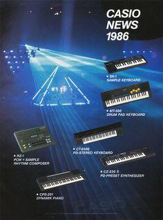 CASIO News Anzeige 1986