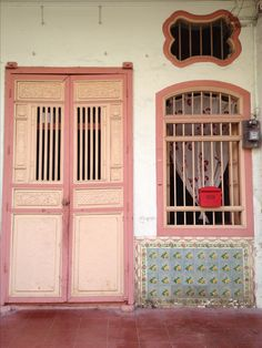 Penang shop house, Peranakan house, Georgetown Malaysia