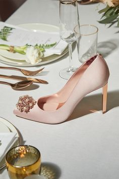 HOLD COURT in style with Ted's embellished DAHRLIN heel
