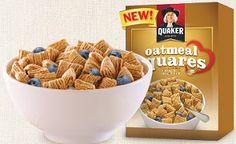 FREE Quaker Oatmeal Squares Sample on http://hunt4freebies.com