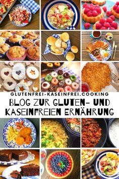 Sammlung gluten- und kaseinfreier Rezepte bei Zöliakie oder Allergie geeignet für die gfcf Diät bei Autismus #autismus #gfcf #glutenfrei #kaseinfrei #zöliakie #allergie #rezepte
