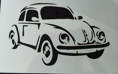 Beatle car wall art stencil,Strong,Reusable,Recyclable