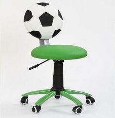 Dětskou židli Gól si zamilují děti, které mají rády fotbal.