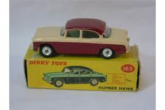 Boxed Dinky 165 Humber Hawk