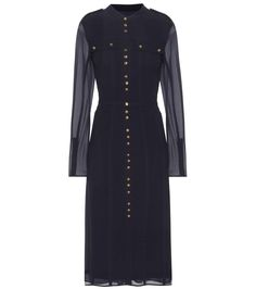Burberry Black Silk Dress