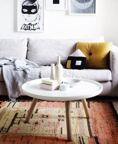 Sofa and tapis