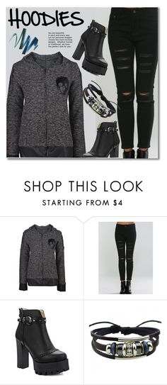 """""""Hoodies"""" by svijetlana ❤ liked on Polyvore featuring Hoodies and twinkledeals"""