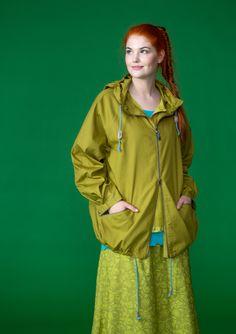 Windjacke aus Öko-Baumwolle Damenjacken und Mäntel in ausgefallenem Look   Gudrun Sjödén