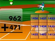 Free Online Puzzle Games, Practice your math in a fun way in Batter's Up Baseball math!  Choose the type of hit you want to make, and then answer the math question to hit the ball!  If you get the wrong answer, you are out, so make sure you are accurate!, #math #learning #teaser #brain #puzzle #addition
