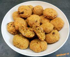 Ovesné mrkvové sušenky.