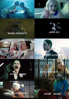 Harley Quinn and Joker were inseparable in both Arkham asylum and Gotham city ❤️ (suicide squad) Badass Quotes, Cute Quotes, Harley And Joker Love, Image Triste, Der Joker, Dc Comics, Jolie Phrase, Harely Quinn, Prince Charmant