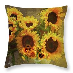 Use my code RPYCZV for  20% discount at checkout on any art or art product on my FAA site! #SALE #pillow #sunflowers