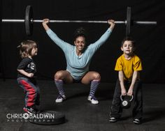 CrossFit Family Photography, CrossFit Kids Photography