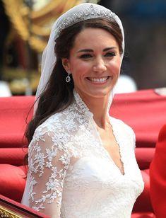 Image detail for -Kate Middleton, Wedding Day - | ThirdAge
