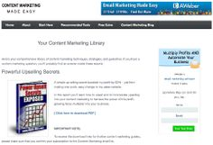 Call to Action Secrets - for sky high conversion rate on landing pages http://www.ezinemarketingcenter.com/call-to-action.php