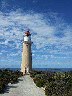 A lighthouse at Kangaroo island
