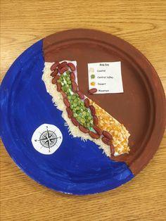 California geography, 4th grade hist/social-sci standard.