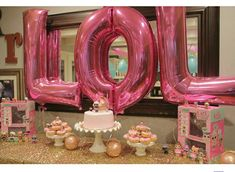 "Lol Surprise ""LOL"" balloon decoration - what a great idea! 5th Birthday Party Ideas, 8th Birthday, Birthday Party Decorations, Surprise Birthday, Carnival Birthday, Doll Party, Popsugar, Birthdays, Ava"