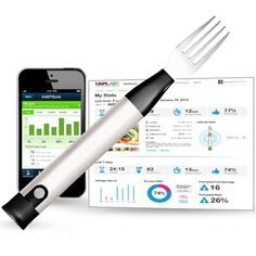 A high-tech approach to keeping track of some of your eating habits and it's Bluetooth enabled!