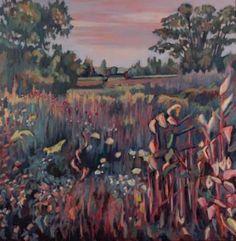 """Saatchi Art Artist Nina Weiss; Painting, """"Deep Prairie"""" #art"""