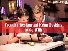 Top 25 Creative Restaurant Menu #Designs and Ideas