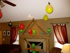 Angry Birds Birthday Party Ideas | Photo 13 of 46