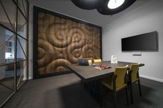 Panel de pared 3D modular de madera SHAMAL by MOKO