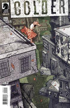Colder #2. Cover by Juan Ferreyra.