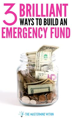 3 Brilliant Ways to Build an Emergency Fund Fast Using these Assets. Start saving and create a safety net with an emergency fund. Ways To Save Money, Money Saving Tips, How To Make Money, Money Tips, Managing Money, Certified Financial Planner, Financial Planning, Financial Tips, High Yield Savings Account
