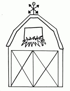 Barn Coloring Pages For Kids 2