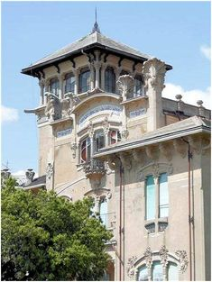 Villa Zanelli (1907) Savona Architecte : Gottardo Gussoni.©GB