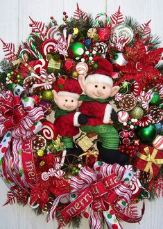 Christmas Wreath    THE ELVES