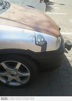 I like rusty cars... Salad fingers is creepy!!---OOOOH goodness. I have so much love for this!!!