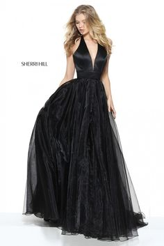 Simple Sexy Halter Neck Long A-line Tulle Prom Dress 50834 from Sherri Hill Sherri Hill Prom Dresses, Tulle Prom Dress, Homecoming Dresses, A Line Evening Dress, Evening Dresses, Formal Dresses, Wedding Dresses, Ball Dresses, Ball Gowns